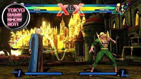 Ultimate Marvel vs Capcom 3 TGS