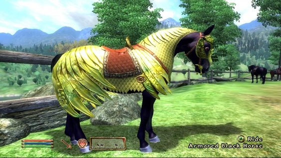 Horse armor Oblivion