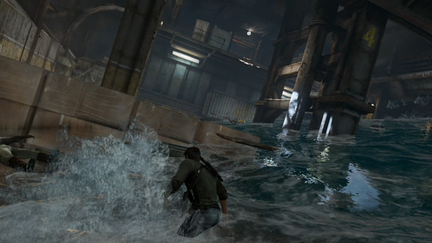 Uncharted 3 Boat