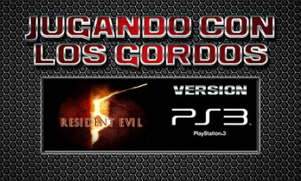 Jugando con los Gordos: Resident Evil 5 en el PS3