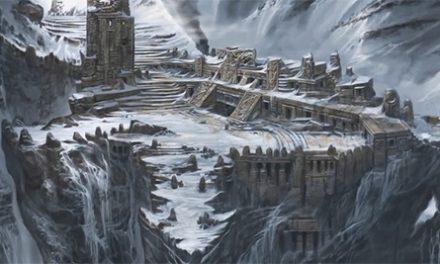 Que tal un paseo por el arte concepto de Skyrim.