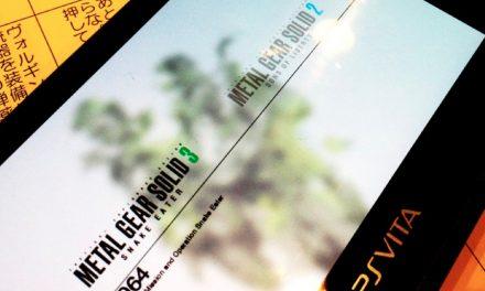 La Metal Gear Solid HD Collection confirmada para el PS Vita
