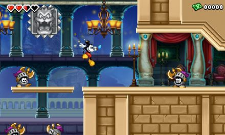 Epic Mickey: The power of Illusion para el 3DS
