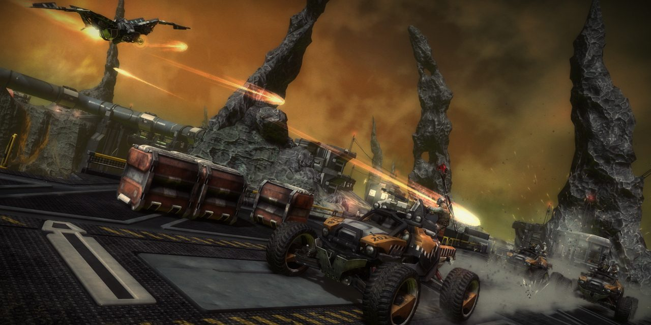 A conquistar el cielo y la tierra con todos los vehículos de Starhawk