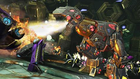 Aquí una nueva galería de Transformers: Fall of Cybertron