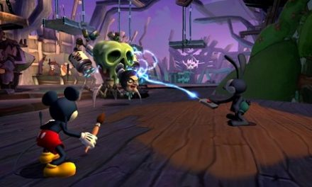 En Epic Mickey 2: The Power of Two la narrativa es muy importante