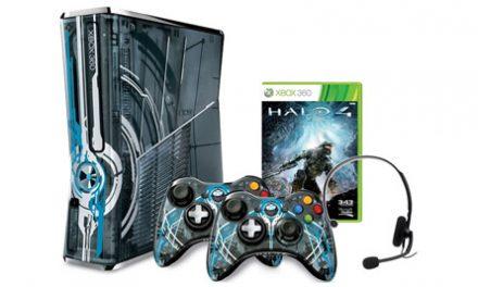 Aquí el Xbox de edición limitada de Halo 4