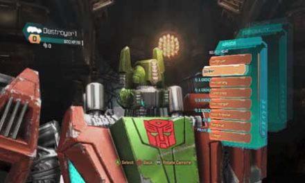 Vean el nuevo video sobre el multiplayer de Transformers: Fall of Cybertron