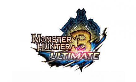 Monster Hunter 3 Ultimate anunciado para Wii U y 3DS