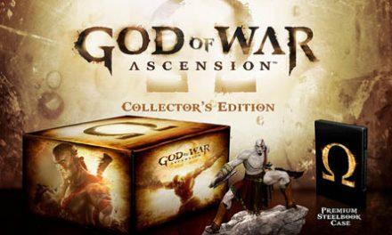 Aquí la edición de colección de God of War: Ascencion