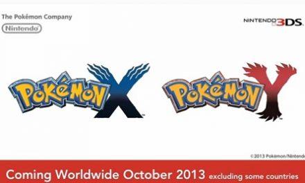 Nuevos Pokémon X & Y para octubre del 2013