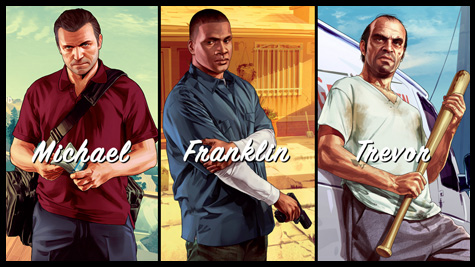 Conozcan a los protagonistas de Grand Theft Auto V con este trio de trailers