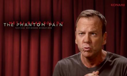 Kiefer Sutherland será la voz de Big Boss (alias Naked Snake) en Metal Gear Solid V: The Phantom Pain