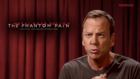 Kiefer Sutherland será la voz de Big Boss (alias Naked Snake) en Metal Gear Solid V: The Phantom Pain