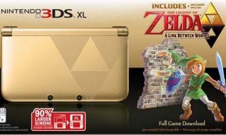 El bundle de Zelda: A Link Between Worlds 3DS XL llegará a América