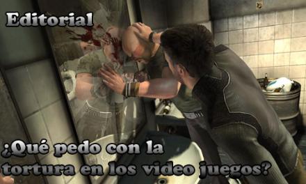 ¿Qué pedo con la tortura en los videojuegos?