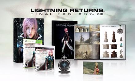 Lightning Returns: Final Fantasy XIII tiene una edición de colección muy vistosa