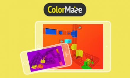 ¡Les presento ColorMaze, un juego para iOS muy especial!