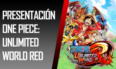 Reportaje: Presentación One Piece: Unlimited World RED