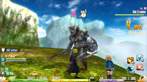 Algunos detalles para nuestro continente de Sword Art Online: Hollow Fragment