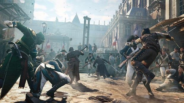 Se ve que la ambientación en Assassin's Creed Unity seguirá siendo de primera