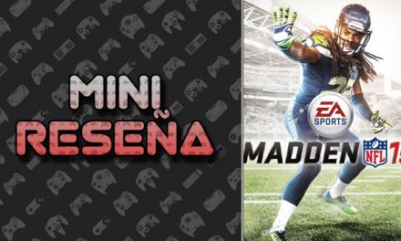 Mini-Reseña Madden NFL 15