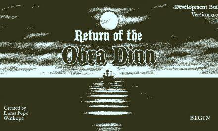 Puedes descargar el demo de Return of the Obra Dinn para tu deleite