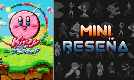 Mini-Reseña Kirby and the Rainbow Curse