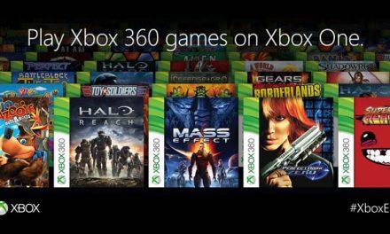 ¡BOOM! retrocompatibilidad de Xbox One con el Xbox 360