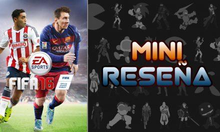 Mini-Reseña FIFA 16