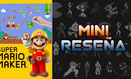 Mini-Reseña Super Mario Maker