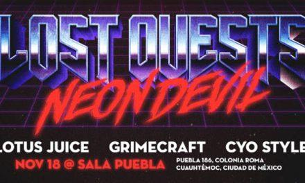 Lost Quests: Neon Devil: Fiesta de Apertura de la Mexico City Game Week