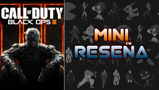 Mini-Reseña Call of Duty: Black Ops III
