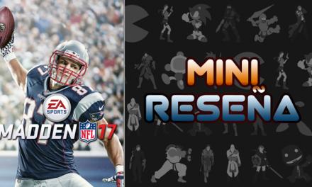 Mini-Reseña Madden NFL 17