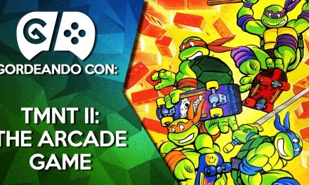 Gordeando con TMNT II: The Arcade Game de NES