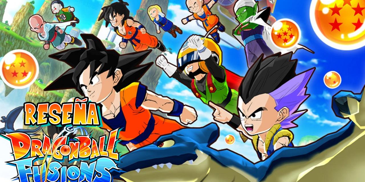 Reseña Dragon Ball Fusions