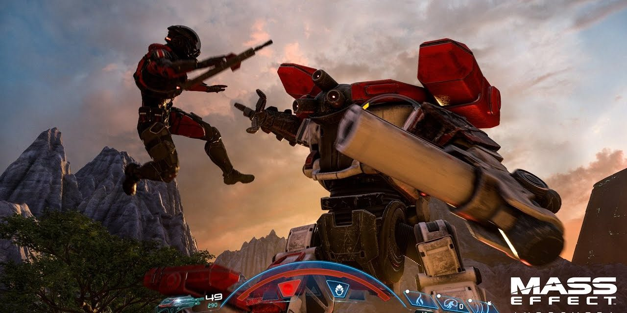 Por fin tenemos una muestra del gameplay de Mass Effect Andromeda