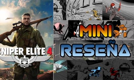 Mini-Reseña Sniper Elite 4