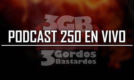 No se pierdan la transmisión en vivo del Episodio 250 de nuestro Podcast