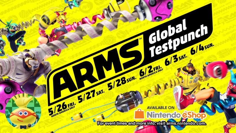Arms tendrá 2 periodos de prueba online antes de su lanzamiento