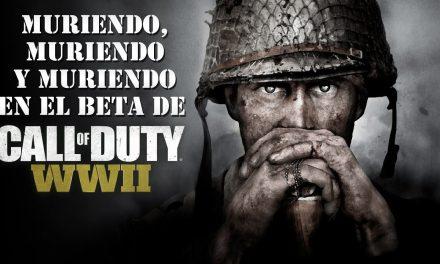 Casul-Stream: Muriendo, muriendo y muriendo en el Beta de Call of Duty: WWII