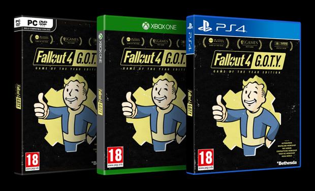 """Fallout 4 tendrá edición de """"Juego del Año"""""""