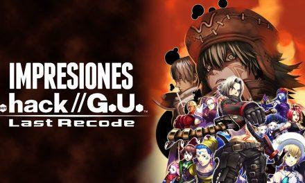 Impresiones .hack//G.U. Last Recode
