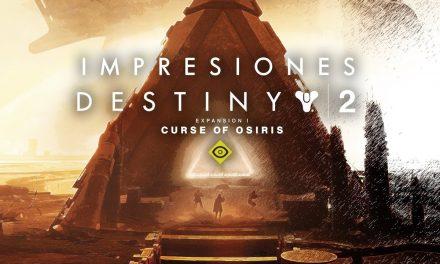 Impresiones Destiny 2: Curse of Osiris