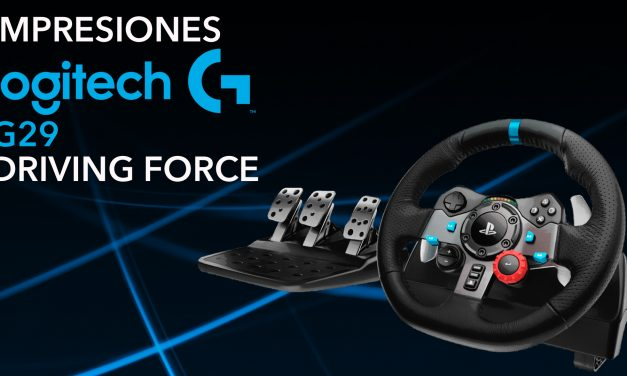 Unboxing e Impresiones Logitech G29 Driving Force