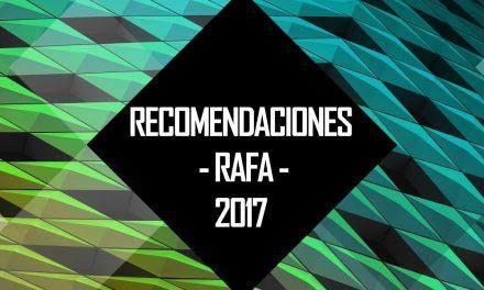 Los Juegos Preferidos de Rafa de 2017