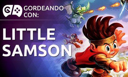 Gordeando con: Little Samson
