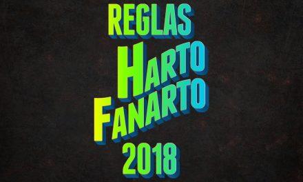 Reglas para Harto Fanarto en 2018