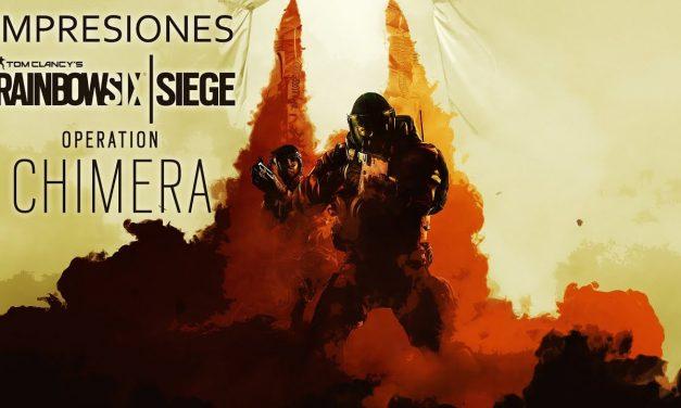 Impresiones Tom Clancy's Rainbow Six Siege: Operation Chimera