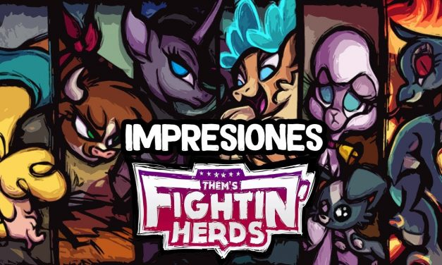 Impresiones Them's Fightin' Herds